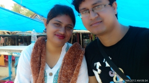 Me with my Wife
