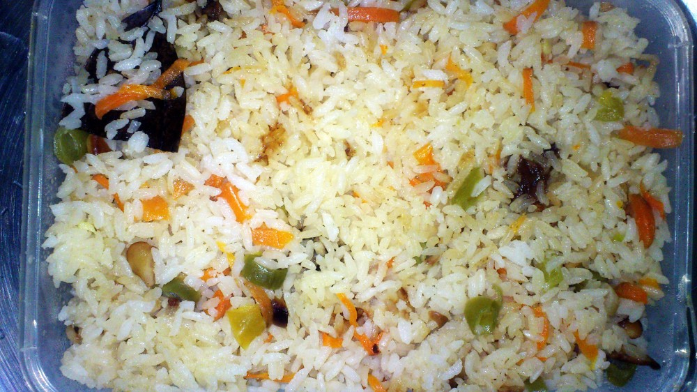 A pack of Veg Pulao