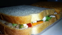 Mayonnaise Salad Sandwich