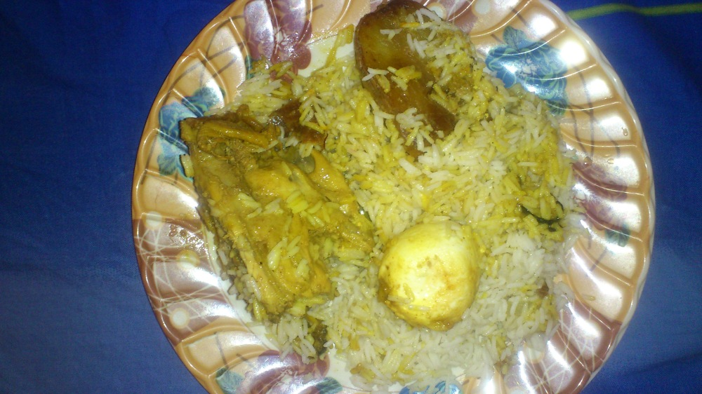 Quarter Chicken Biriyani