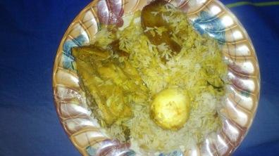 Quarter Chicken Biriyani