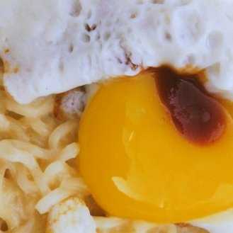 Cheese Noodles with Egg